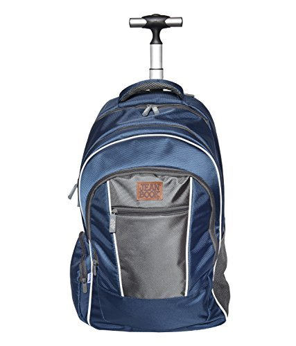 Jean Book Trolley Bag