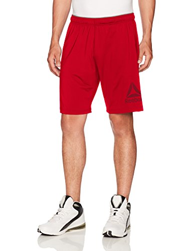 Reebok Speedwick Stretch Knit Shorts, Medium, Excred