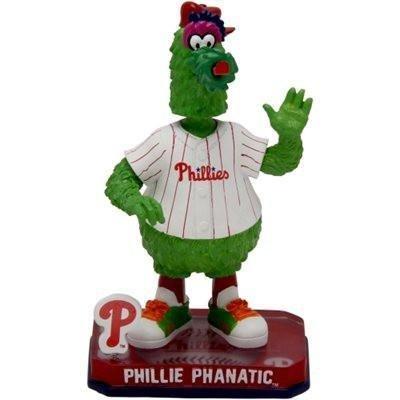 (FOCO MLB Philadelphia Phillies 2014 Mascot Springy Logo Base Phanatic Bobble Home, Red)
