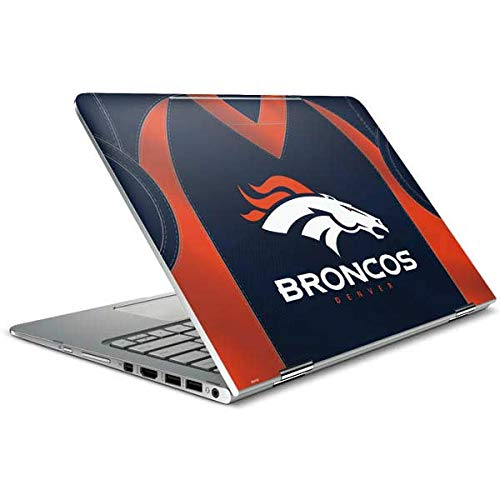 - Skinit Denver Broncos Team Jersey Spectre x360 15.6in (2-in-1) Skin - Officially Licensed NFL Laptop Decal - Ultra Thin, Lightweight Vinyl Decal Protection