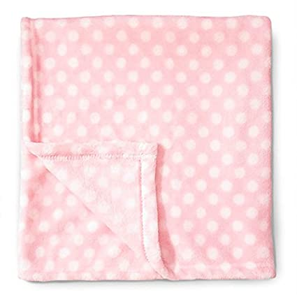 Baby Blanket (Giraffe) Super Soft Fleece Baby Girl's Blanket/Cozy Blanket/Crib to Toddler/Registry Gift for Boy and Girl/Super Soft Designed in USA/Made in China