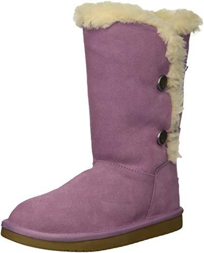 Koolaburra by UGG Unisex K KINSLEI Tall Fashion Boot Lavender Mist 05 Medium US Big Kid -