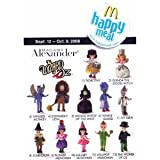 : 2008 Mcdonalds Madame Alexander Wizard of Oz Dolls Set Of 12 Figure