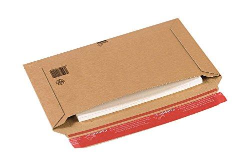 Colompac 225390 - Pochettes carton extra rigide 270X185X50-20 unités