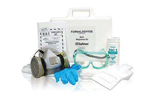 Safetec Formaldehyde Spill Response Kit (hard case) (1 kit / case) by Safetec