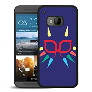 Beautiful Designed Cover Case For HTC ONE M9 With Majora Mask Minimalist Black Phone Case