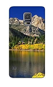 Christmas Gift - Case Cover For Galaxy S5 Strong Protect Case - Toiyabe National Forest Design