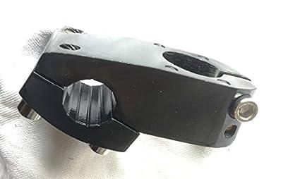 CarbonEnmy Aluminio BMX manillar 50/mm Longitud 1/1//8/22,2/mm bicicleta manillar Stem Negro