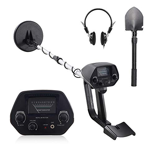 (Kingdetector MD-4030 Pro Edition Hobby Explorer Waterproof Search Coil with shovel Metal Detectors)
