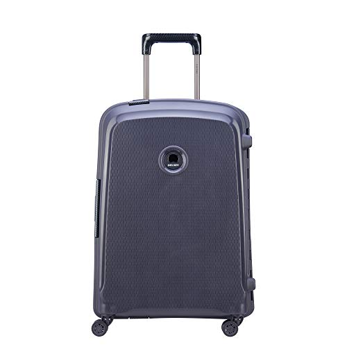 DELSEY Paris Belfort DLX Spinner Carry-on, Anthracite Deluxe Tri Fold Organizer