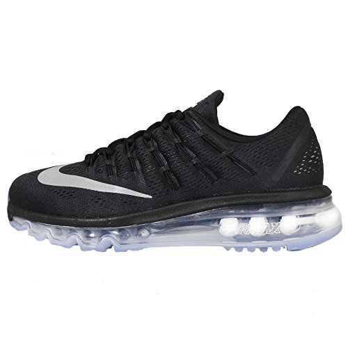 Nike Unisex Adults' WMNS Air Max 2016 Running Shoes, Grey White (Black / White)
