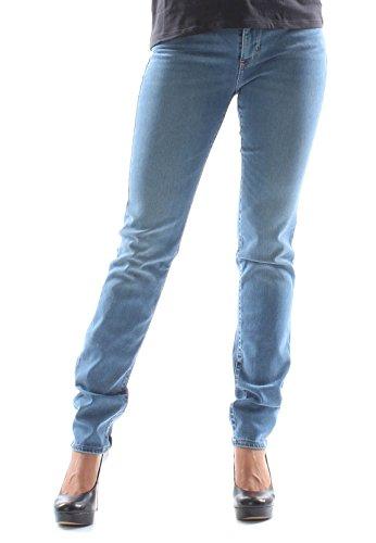 Levi's Taglio Jeans Blau Donna Levis 712 Slim U468Uq