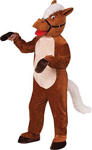 Horse Henry The Mascot (UHC Unisex Horse Henry Mascot Jumpsuit Animal Theme Party Halloween Costume, STD (40-42))