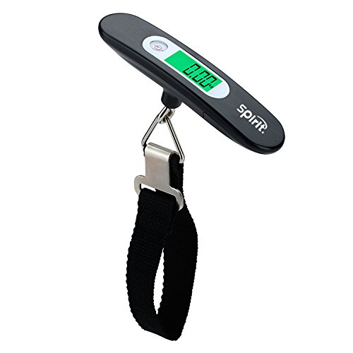 Spirit 110 Ib / 50 kg Digital hanging Luggage Scale with Tare Function by Spirit