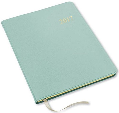 2016 2017 18 Months Monthly Large Mint Cartier Planner Calendar  Including July 2016   December 2017  Made In Usa  Size  9 6   X 7 6