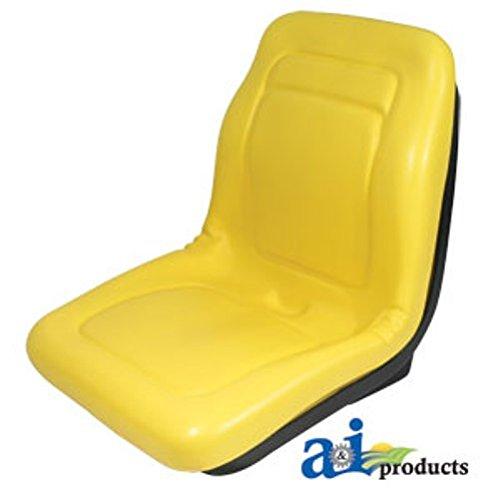 John Deere Diesel - Replacement Seat for John Deere Gator CX, E, TURF, TE TURF ELECTRIC, TH TURF, TH 6X4 DIESEL, TX 4X2, TX 4X2 TURF, XUV 850D Diesel, XUV 620I Gator Deluxe High Back Seat Vinyl Waterproof