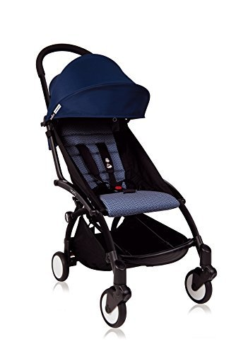 BabyZen Yoyo + Stroller Black Frame / Air France Navy