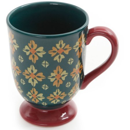 The Pioneer Woman Vintage Geo 18-Ounce Latte Mug Set, 4-Pack (Geo Press)