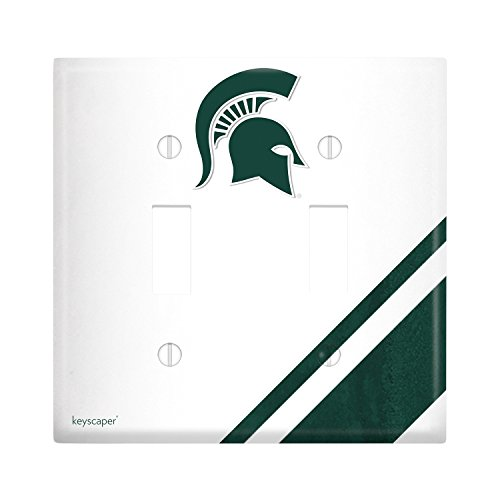 Michigan State University Double Toggle Light Switch Cover NCAA ()