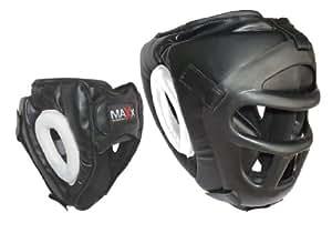 Max Sports Ltd Protector de cabeza desmontable para boxeo y artes marciales, talla L