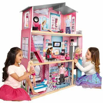 Valued Universe of Imagination Modern Luxury Dolls House --: Amazon ...