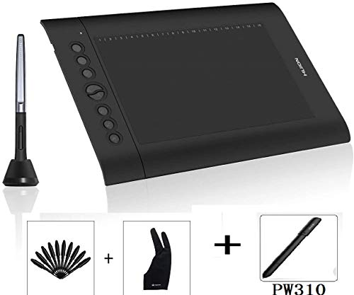 Huion H610PRO V2 Drawing Tablet, with Digital Pen PW310