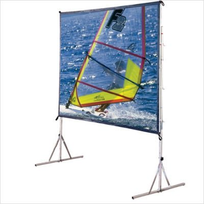 Cineflex Cinefold Portable Screen - Square Format Size: 5' x 5'