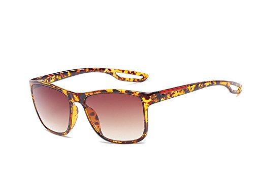 Square Unisexo UV400 Sol Mujer Eyewear Color Clásico para Bmeigo protección De Hombre negro Gafas Shades Marco Gafas 03 con Hq0wv