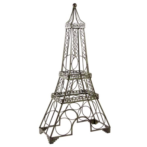 Cheap Home Essentials Wine Rack Eiffel Tower Green