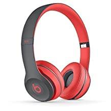 Beats by Dr. Dre Solo 2 Wireless Active Collection MKQ22AM/A | Siren Red On Ear Headphone by Beats