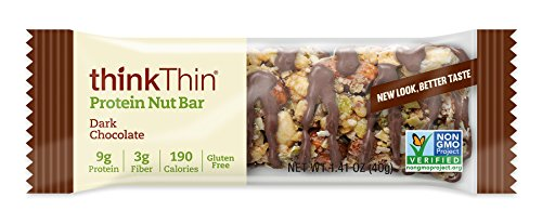 thinkThin Protein Nut Bar Dark Chocolate 10-Count Only $5.19