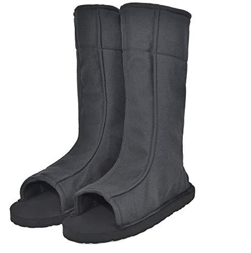 DAZCOS Unisex Black Shippuden Ninja Boots Shoes