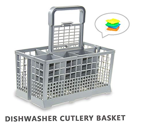 Yours Universal Dishwasher Cutlery Basket fits Kenmore, Whirlpool, Bosch, Maytag, KitchenAid, Maytag, Samsung, GE, and more