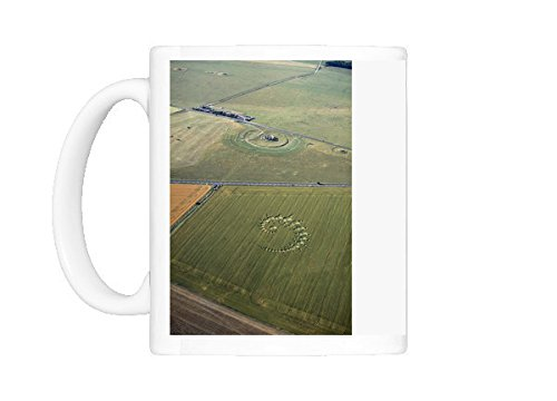 Mug of Stonehenge and crop circle N960002 (Stonehenge Crop Circle)