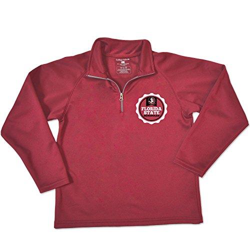 - NCAA Florida State Seminoles Youth Relay Quarter Zip Fleece, Size 8-10 /Small, Cardinal