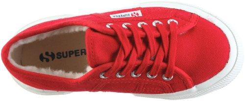 Superga Cobinvj - Zapatillas de lona infantil rojo - Rot/Red