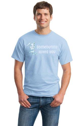 SOMEBUNNY LOVES YOU! Unisex T-shirt / Cute Rabbit, Bunny Lover Tee