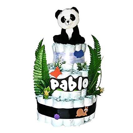 Pastel Pañales Dodot - Oso Panda - Regalo Original Bebé - MilCestas