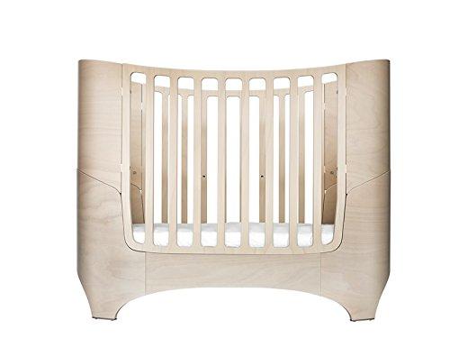 Leander Baby- und Kinderbett in white wash OHNE MATRATZE