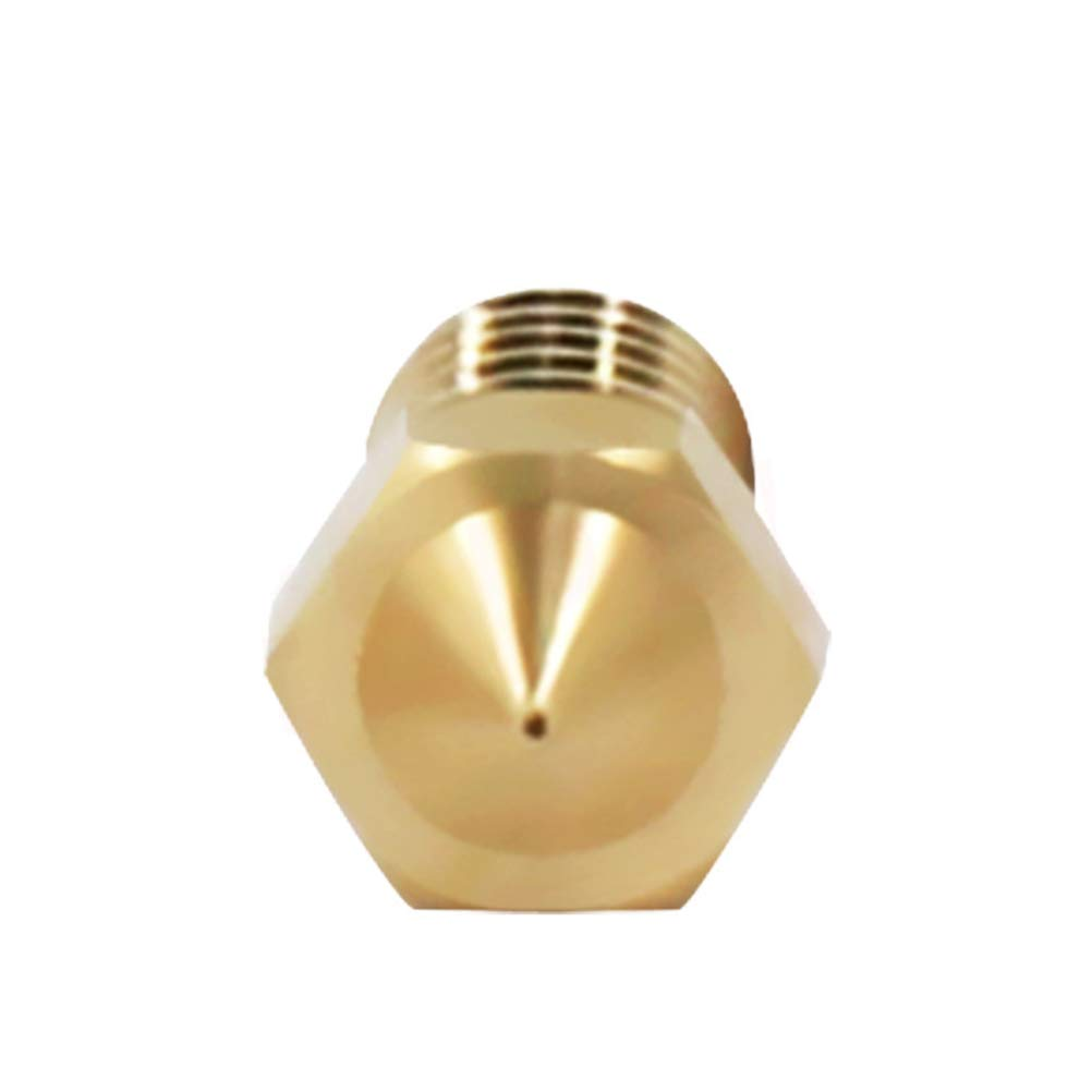 Golden STOBOK 10pcs Impresora 3D Boquilla Extrusora Boquillas Cabeza de impresora Filamento Boquillas 0.2mm 0.3mm 0.4mm 0.5mm 0.6mm 1.75mm Impresoras 3D Partes