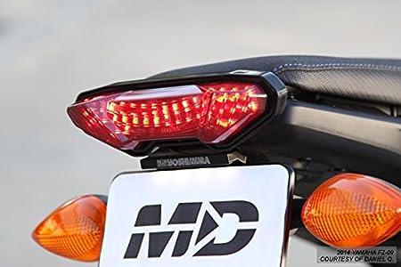 Smoke Lens Set For 2014-2016 YAMAHA FZ-09 MT-09 15-16 FJ-09 Integrated LED Tail Light Turn Signal
