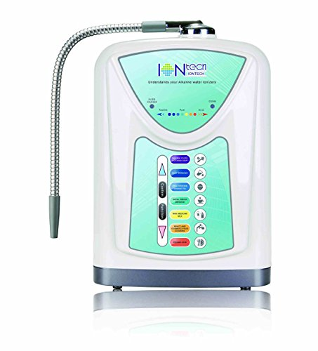 NEW Alkaline Water Ionizer Machine with Sieve IONtech IT-580 by IntelGadgets. Powerful, Affordable, FREE Filter.