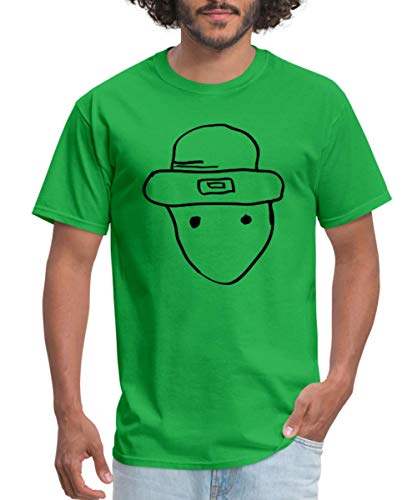 Spreadshirt St. Patrick's Day Leprechaun Amateur Sketch Men's T-Shirt
