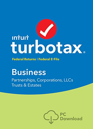 Software : TurboTax Business Tax Software 2017 Fed + Efile PC Download