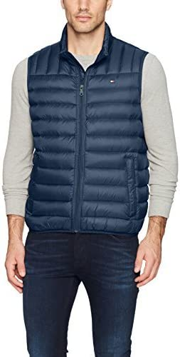 Tommy Hilfiger Light Weight Packable Down Vest Chaleco para Hombre