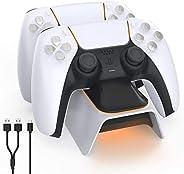 A base TwiHill é adequada para controlador PS5, estação base Playstation 5, para gamepad sem fio Sony DualSens