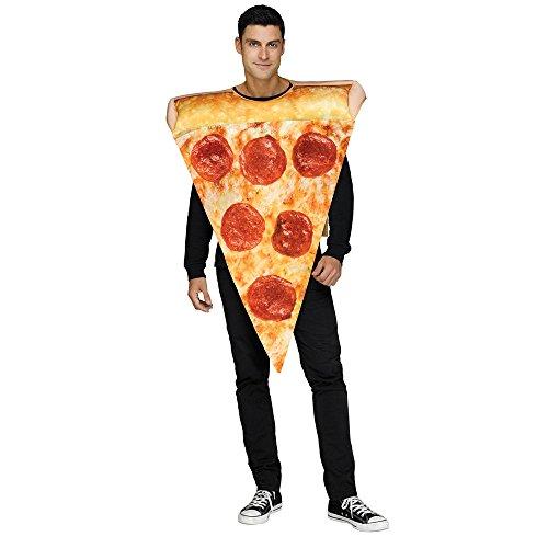 Fun World Mens Pizza Slice Costume Size (Pizza Man Costumes)