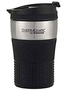 Thermos THERMOcafe Insulated Travel Cup, 200ml, Black, HV200BK6AUS