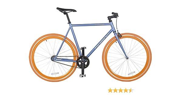 Rocasanto Bike - Bicicleta fixie v, tamaño 51, color gris ...