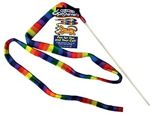 Cat Dancer 301 Cat Charmer Interactive Cat Toy RAINBOW